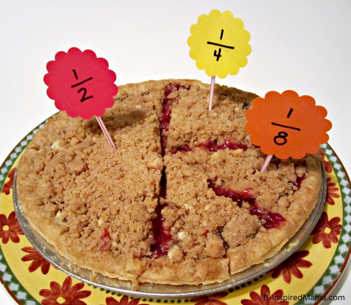 Pi Day Preschool Math Fun with Marie Callender's Pie and B-InspiredMama.com