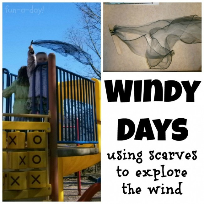 Windy Day Science Activity from Fun-A-Day! and B-InspiredMama.com
