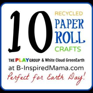 10 Paper Roll Crafts from The PLAY Group