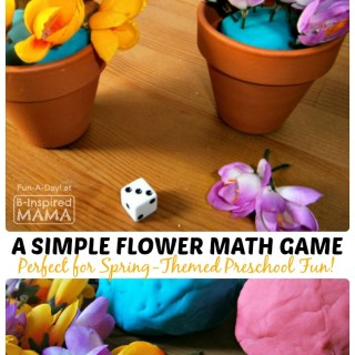 A Simple Spring Flower Math Game