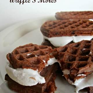 Double Chocolate Waffle S'Mores [#EggoWaffleOff]