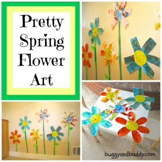 Preschool Flower Craft [From the Mamas]