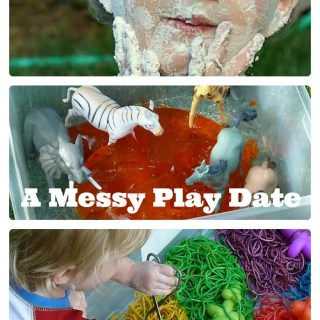 Messy Play Date Fun [From the Mamas]