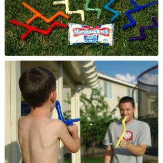 Make a Marshmallow Shooter for Dad [From the Mamas]