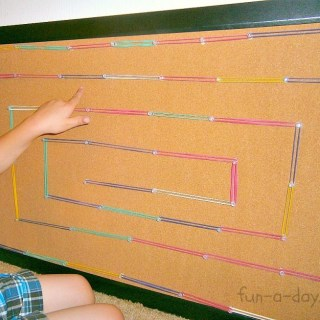A DIY Geoboard Maze [Contributed by Fun-A-Day!]
