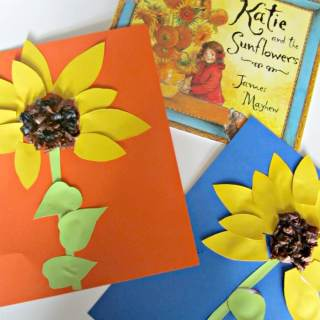 Summer Sunflower Kids Craft