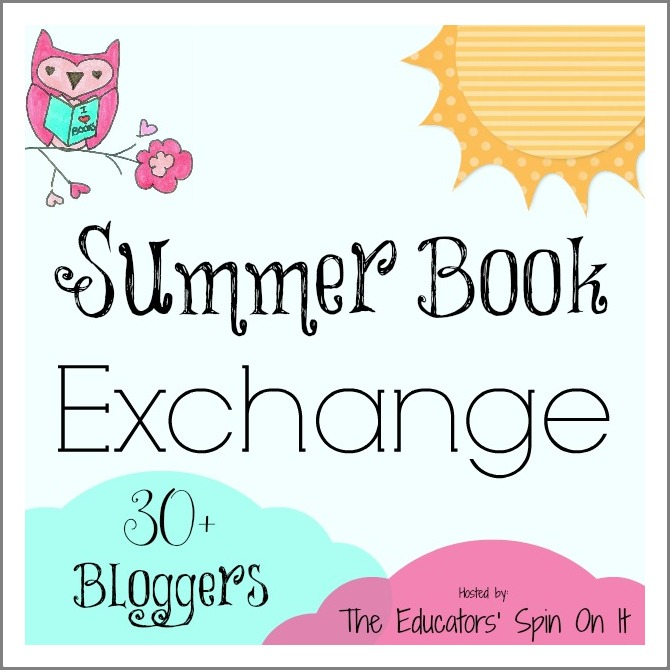 Summer Book Exchange Logo at B-InspiredMama.com