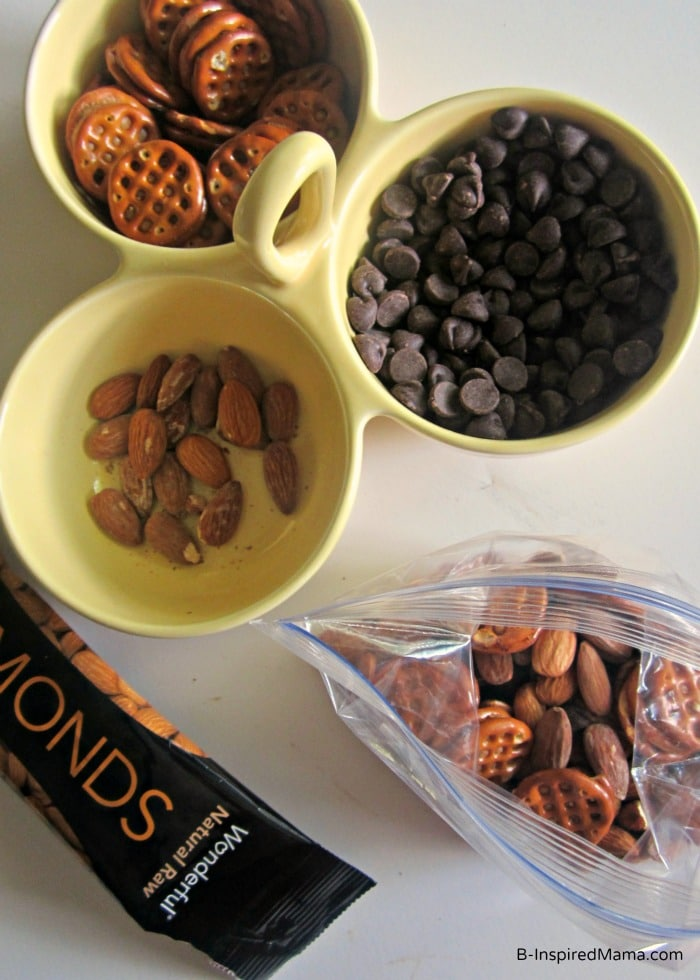 A Simple Summer Kids Snack Mix at B-InspiredMama.com