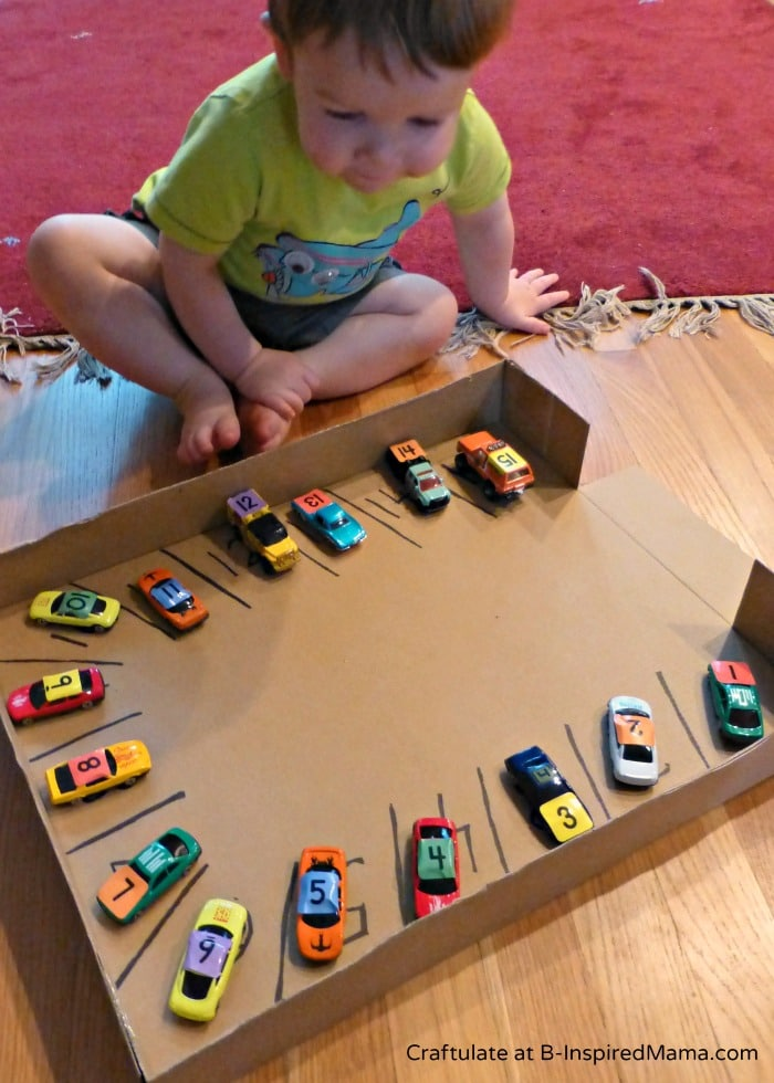 A Car Parking Numbers Game To Make Learning Numbers FUN