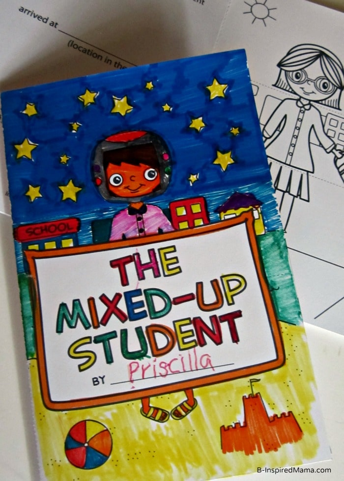 A Mixed Up Printable Coloring Book from Imagination Soup