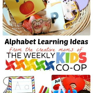 Easy ABC Learning Ideas from The Weekly Kids Co-Op