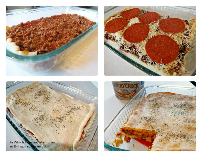 An Easy Recipe for Making Pizza Casserole at B-Inspired Mama