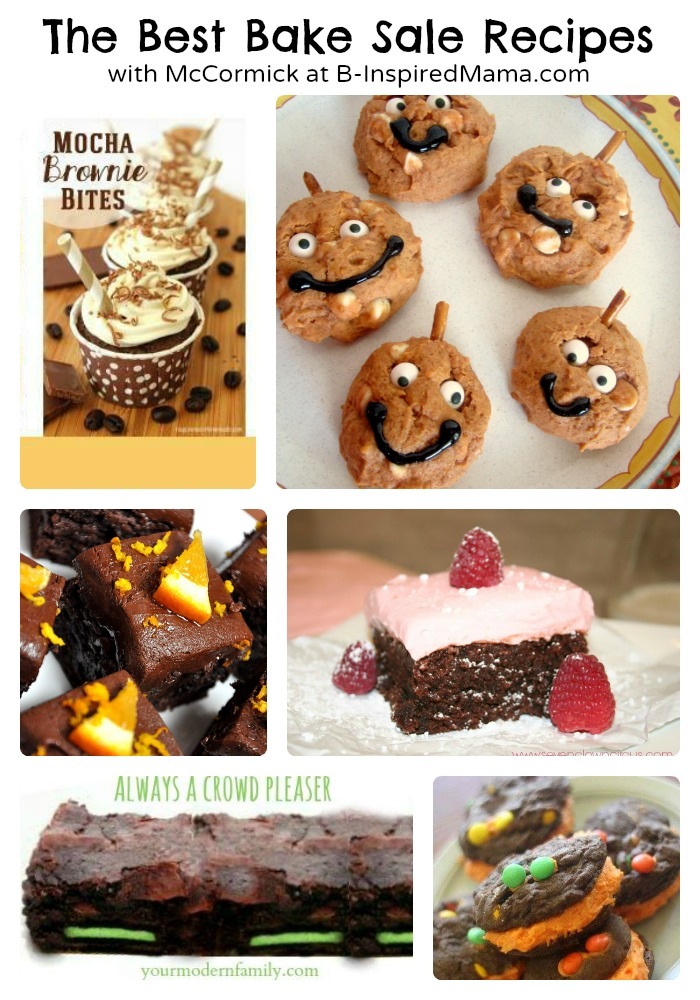 Best Bake Sale Recipes with McCormick t B-Inspired Mama