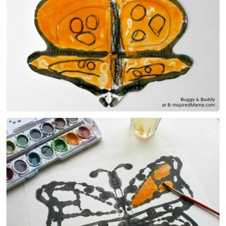 Monarch Butterfly Art and Kids Science Fun [From the Mamas]