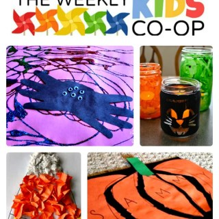 Creative Halloween Crafts for Kids from The Weekly Kids Co-Op