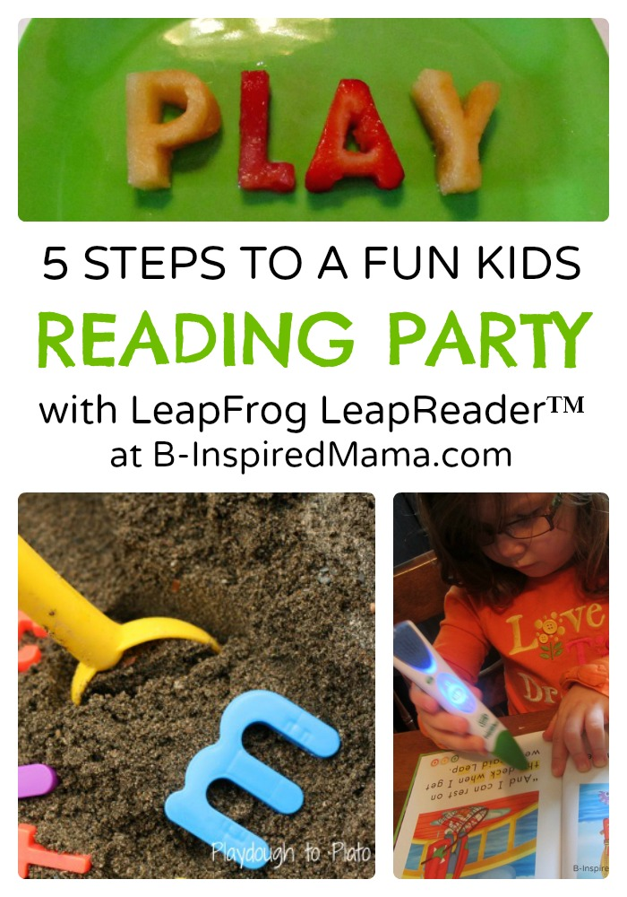 5 Steps to a Reading Themed Kids Party [Sponsored by LeapFrog]