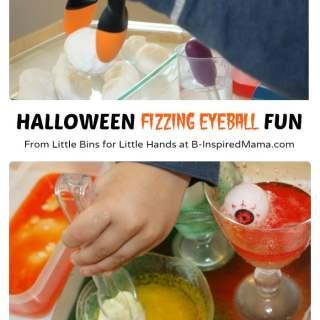 Halloween Science Fun with Fizzing Eyeballs