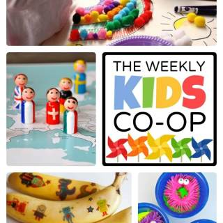 Ideas for Creative Kids from The Weekly Kids Co-Op