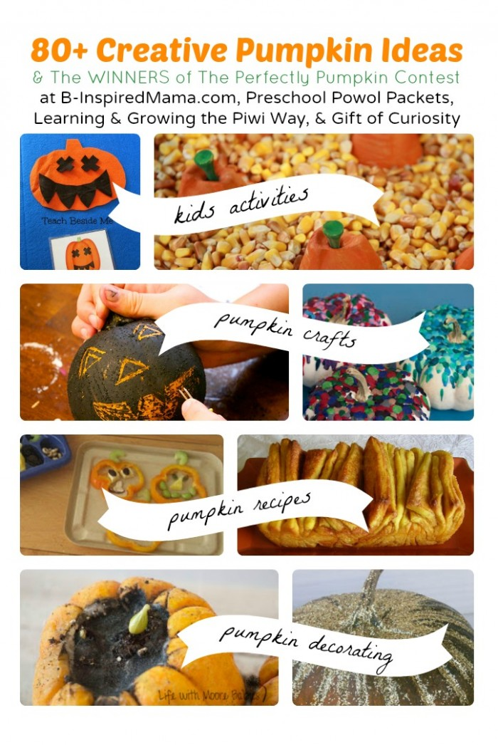 80+ Perfectly Pumpkin Ideas and Contest Winners