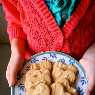 Fall Cookies with Maple Icing [Contributed by Kitchen Counter Chronicles]