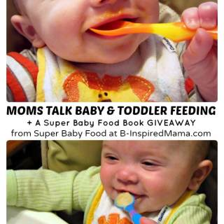 Moms Talk Super Baby Food & Toddler Feeding