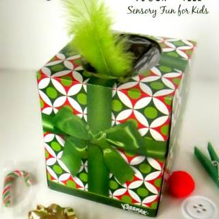 DIY Holiday Touch and Feel Box