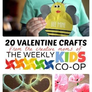 20 Cool Valentine Crafts for Kids
