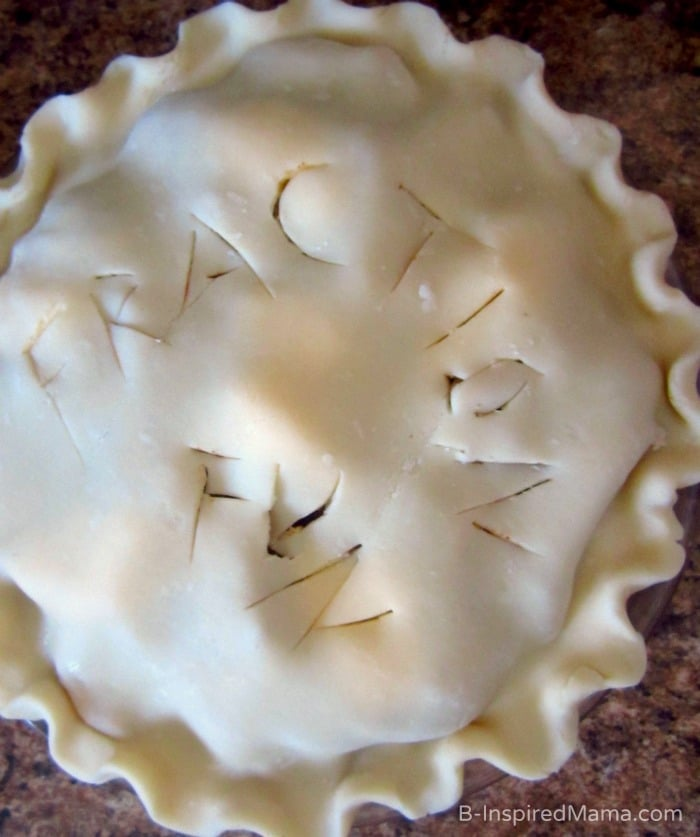 Fraction Pie - Math Fun with Apple Pie at B-Inspired Mama