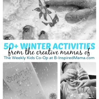 50+ Winter Activities for Kids from The Weekly Kids Co-Op