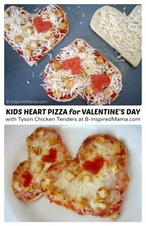 Super Simple Valentine's Day Kids Pizza Fun - #shop #collectivebias