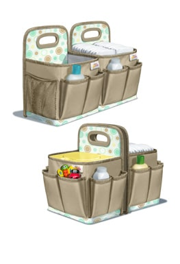 Diaper Change SmartCaddy from Playtex at B-Inspired Mama
