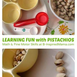 Early Learning Fun with Pistachios