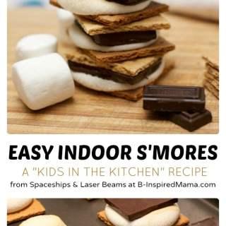 Kids in the Kitchen – Indoor S'Mores