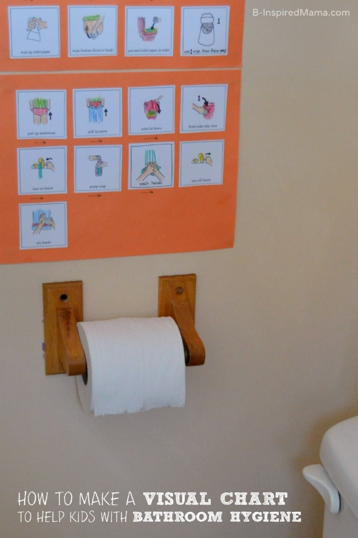 How to Make a Visual Schedule for Kids Bathroom Habits - #sponsored #CtnlCareRoutine #PMedia - B-Inspired Mama
