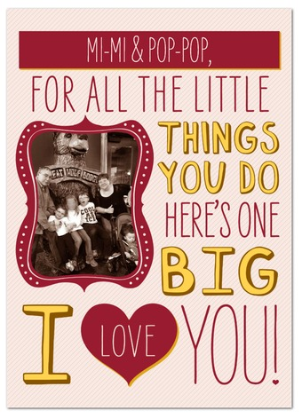 A Cute Kids Valentine to Grandparents at B-Inspired Mama
