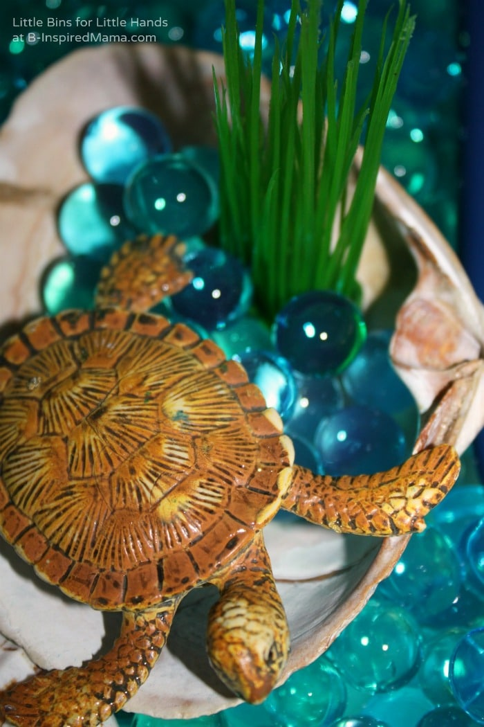 Earth Day Activities with Water Beads at B-Inspired Mama