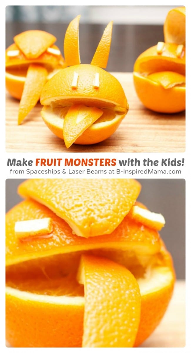 Kids in the Kitchen – Fruit Monsters