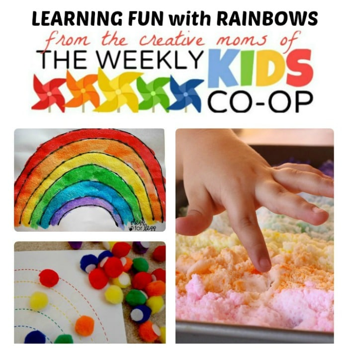 Make Learning Fun with Rainbows - Activities for Kids