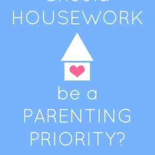 Is Home Organization a Parenting Priority?
