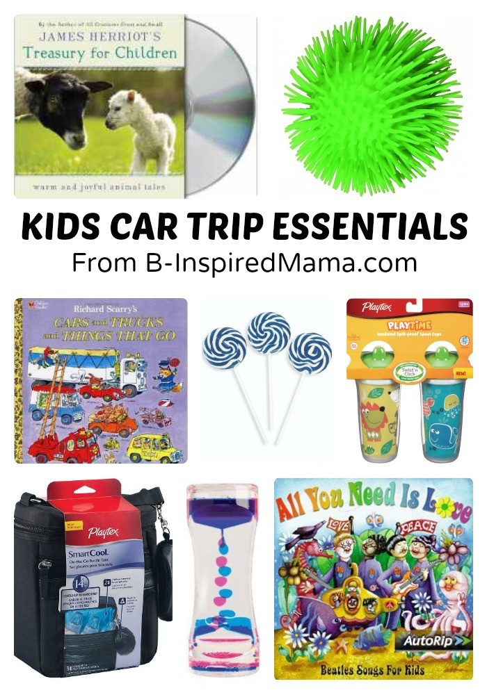 B-Inspired Mama's Top Picks for Better Car Travel with Kids