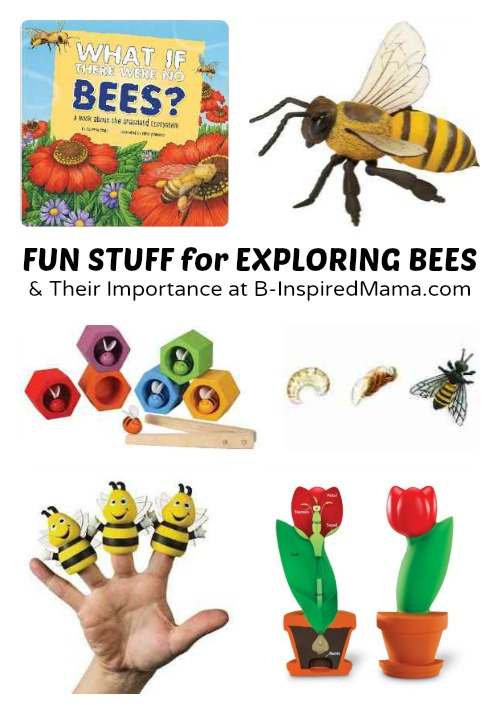 fun stuff for exploring the importance of bees with kids at b inspired mama