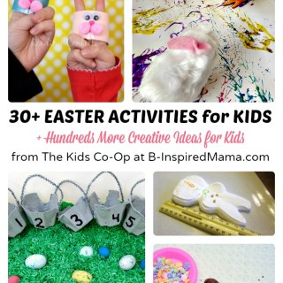 30+ Easter Activities for Kids from The Weekly Kids Co-Op