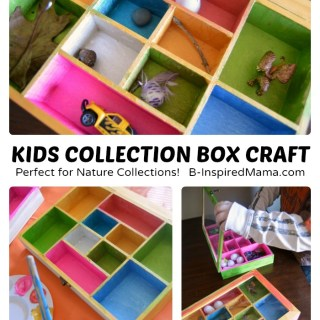 Collection Box Kids Craft