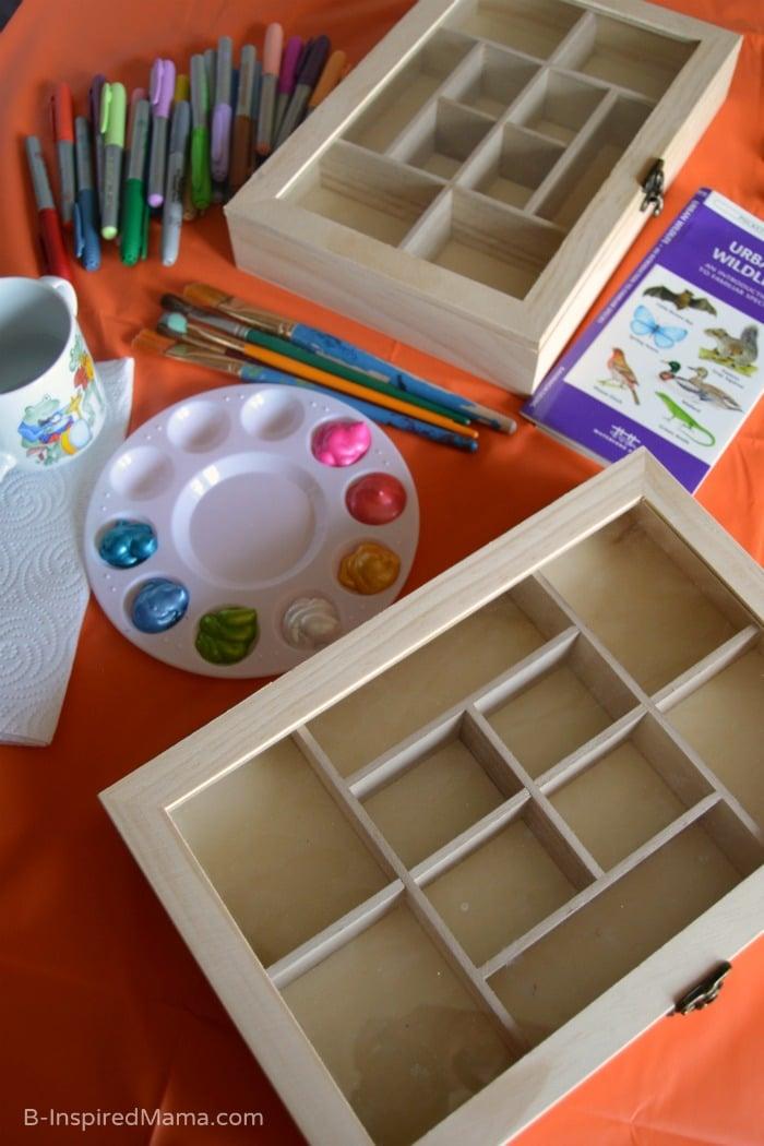 Collection Box Kids Craft - Supplies - at B-Inspired Mama