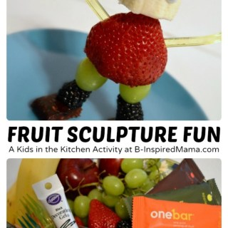 Kids in the Kitchen – Fruit Sculpture Fun