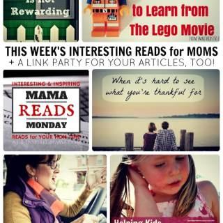Mama Reads Monday – July 21st