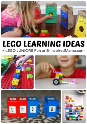 LEGO Learning Activities [#Sponsored by @LEGO_Group #LEGOJuniorMakers #CG] at B-Inspired Mama