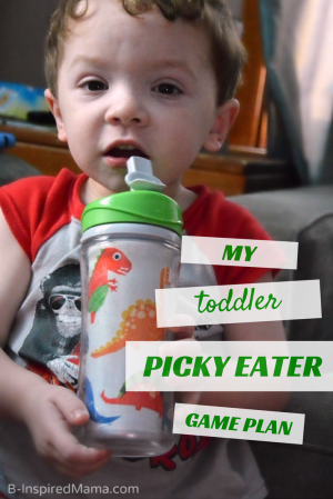 My Toddler Picky Eater Game Plan - AD #Enfagrow B-Inspired Mama