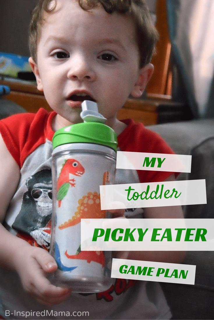 My Toddler Picky Eater Game Plan - AD #Enfagrow B-Inspired Mama