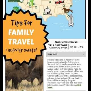 Family Travel Memories + U.S. Landmarks Printables